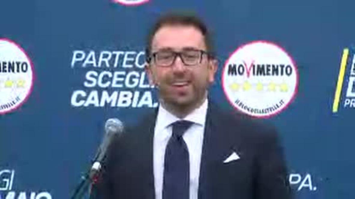 Italia: Movimiento Cinco Estrellas sería el partido más votado en las elecciones legislativas