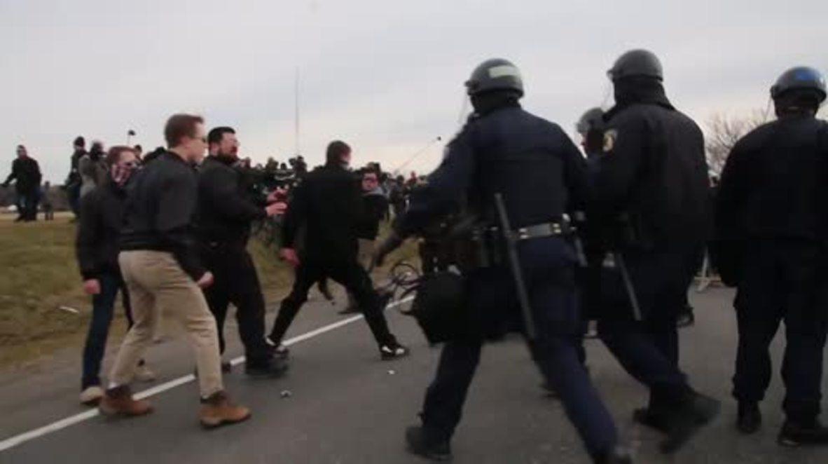 EE.UU.: Varios detenidos durante enfrentamientos antes de un discurso de Richard Spencer