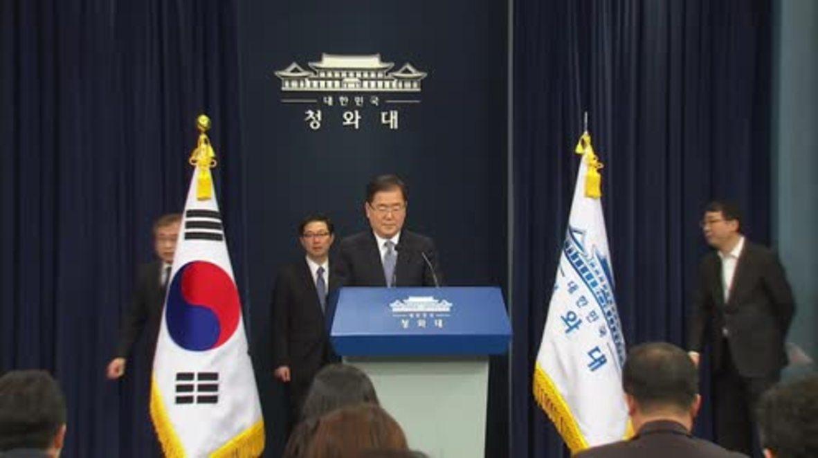 """Corea del Sur: Corea del Norte eliminará su arsenal nuclear """"si no existen amenazas militares"""" - Seúl"""
