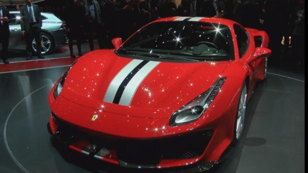 Ferrari reveal the 488 Pista at the Geneva Motor Show