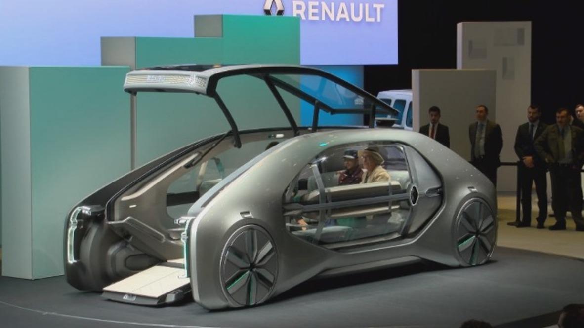 Renault reveals driverless concept Ez-Go at GIMS