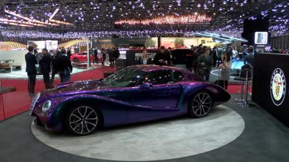 Eadon Green shows off its 'weirdest' supercar in Geneva