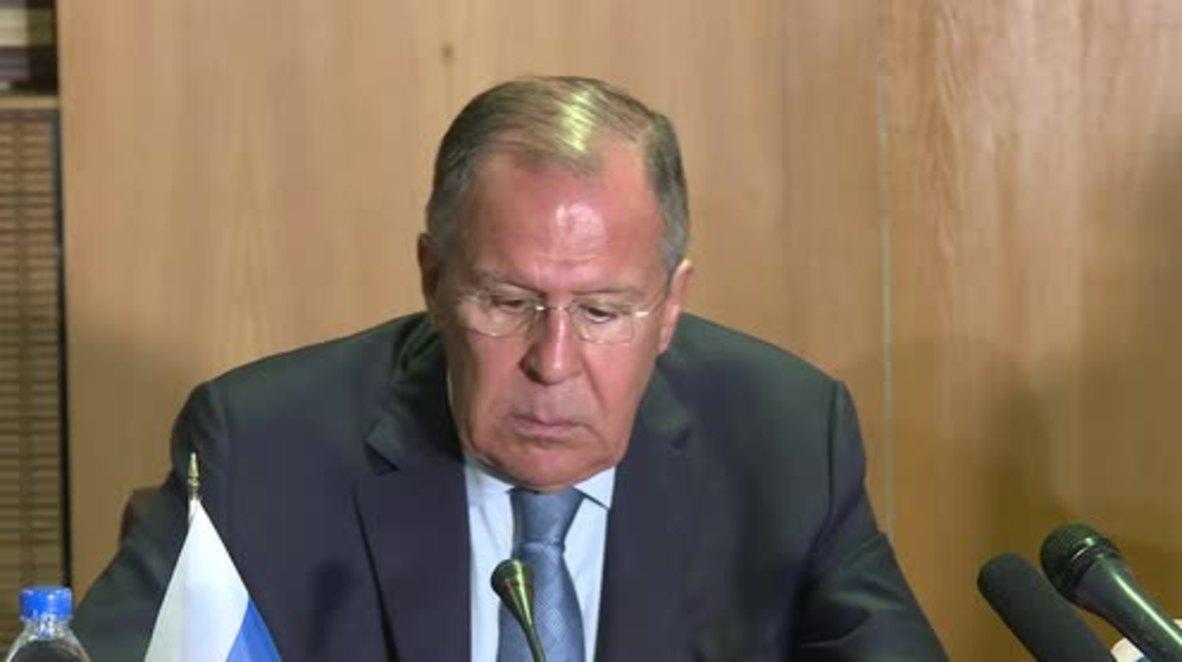 """Zimbabue: Los comentarios de Tillerson sobre las relaciones chino-africanas """"no son apropiados"""" - Lavrov"""