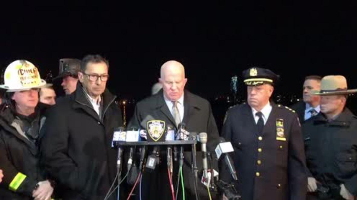 EE.UU.: Dos muertos y tres heridos en estado crítico en un accidente de helicóptero en Nueva York - FDNY