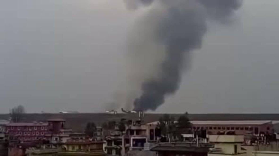 Nepal: 49 dead, 22 injured after plane crash lands in Kathmandu