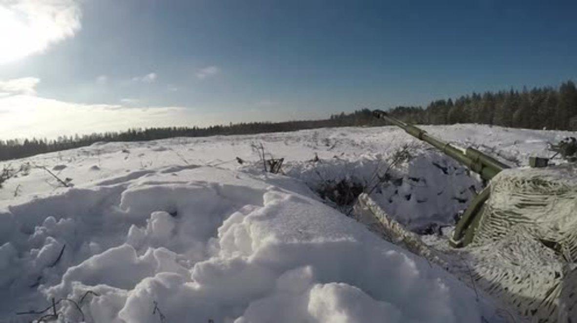 Russia: Drills held with upgraded Krasnopol artillery system in Leningrad