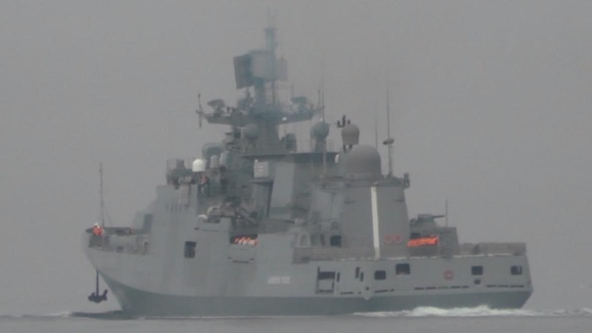 Rusia: La fragata Almirante Essen deja Sebastopol rumbo al Mediterráneo