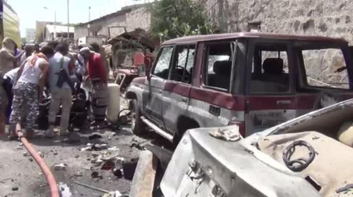Yemen: Al menos 7 muertos en un atentado con coche bomba en Aden