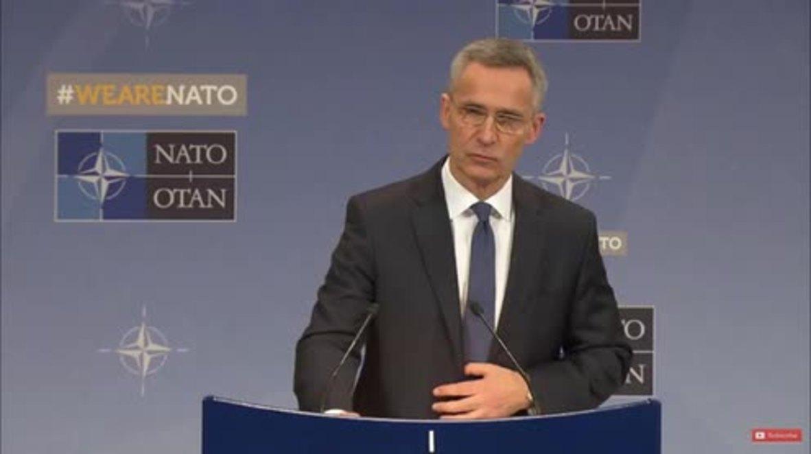 Bélgica: La OTAN ofrece su apoyo al Reino Unido tras el caso Skripal