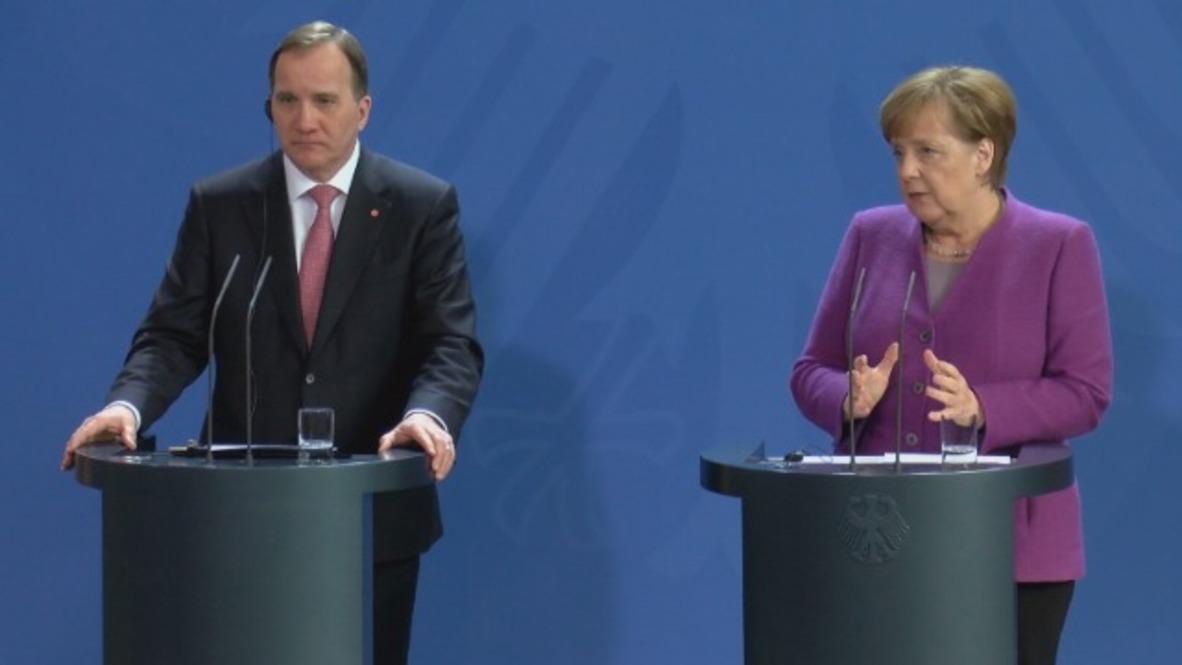 Germany: Salisbury case becomes focus of Merkel-Lofven meet in Berlin