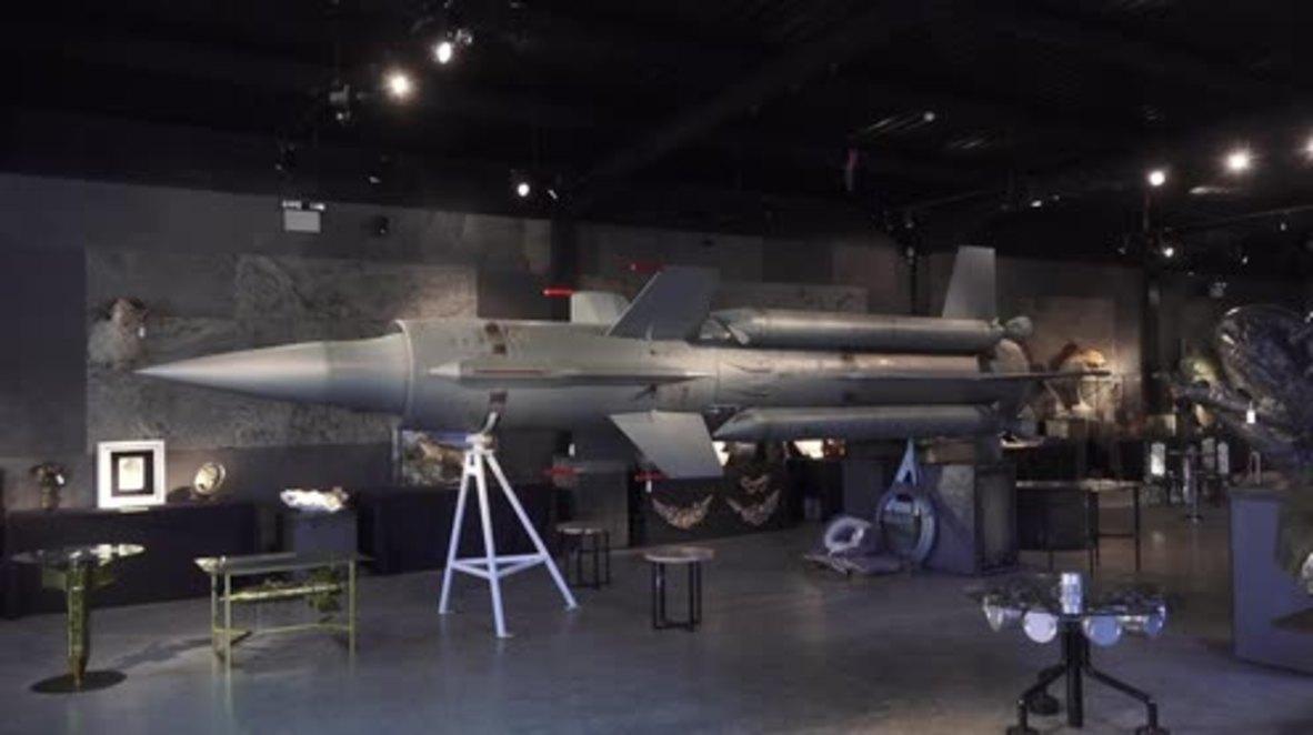 Massive £20k cold-war rocket set to go under the hammer in Sussex