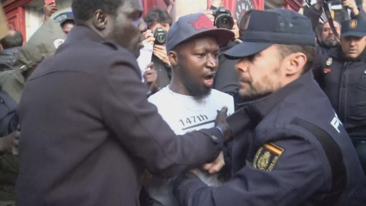 Spain: Madrid still in turmoil following death of Senegalese street vendor