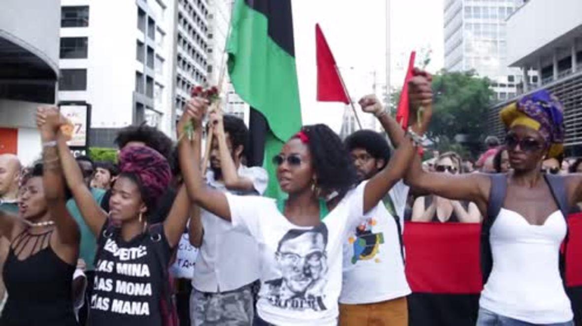 Brazil: Sao Paolo rallies for slain councilwoman