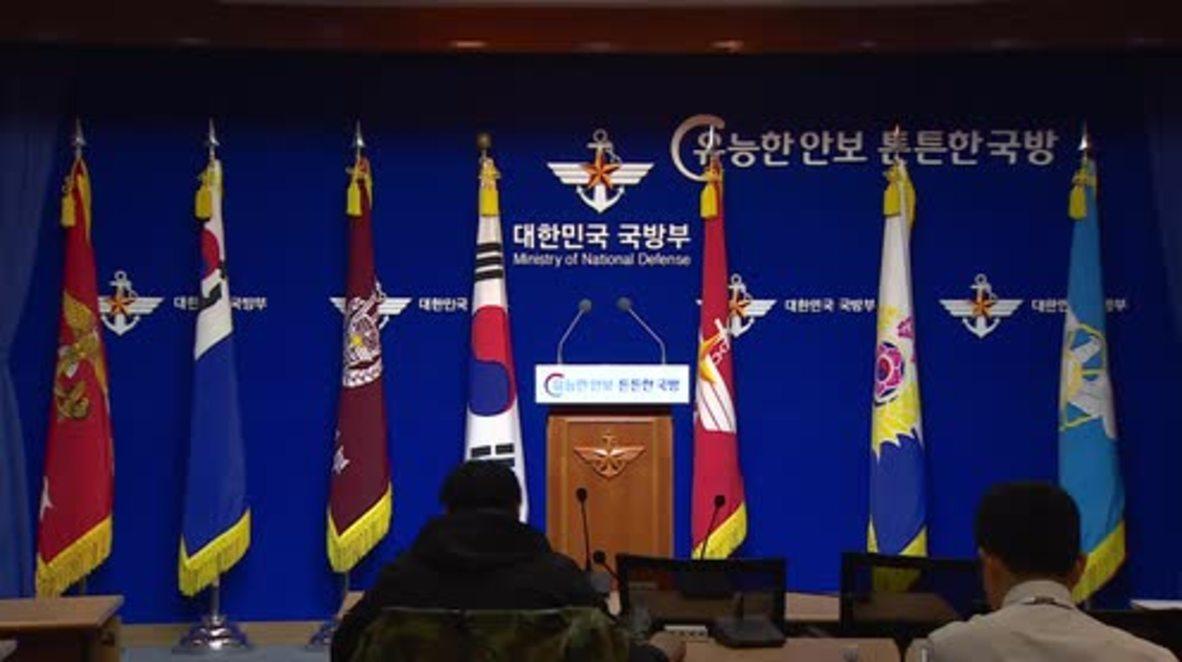 Corea del Sur: EE. UU. y Corea del Sur realizarán ejercicios militares el 1 de abril