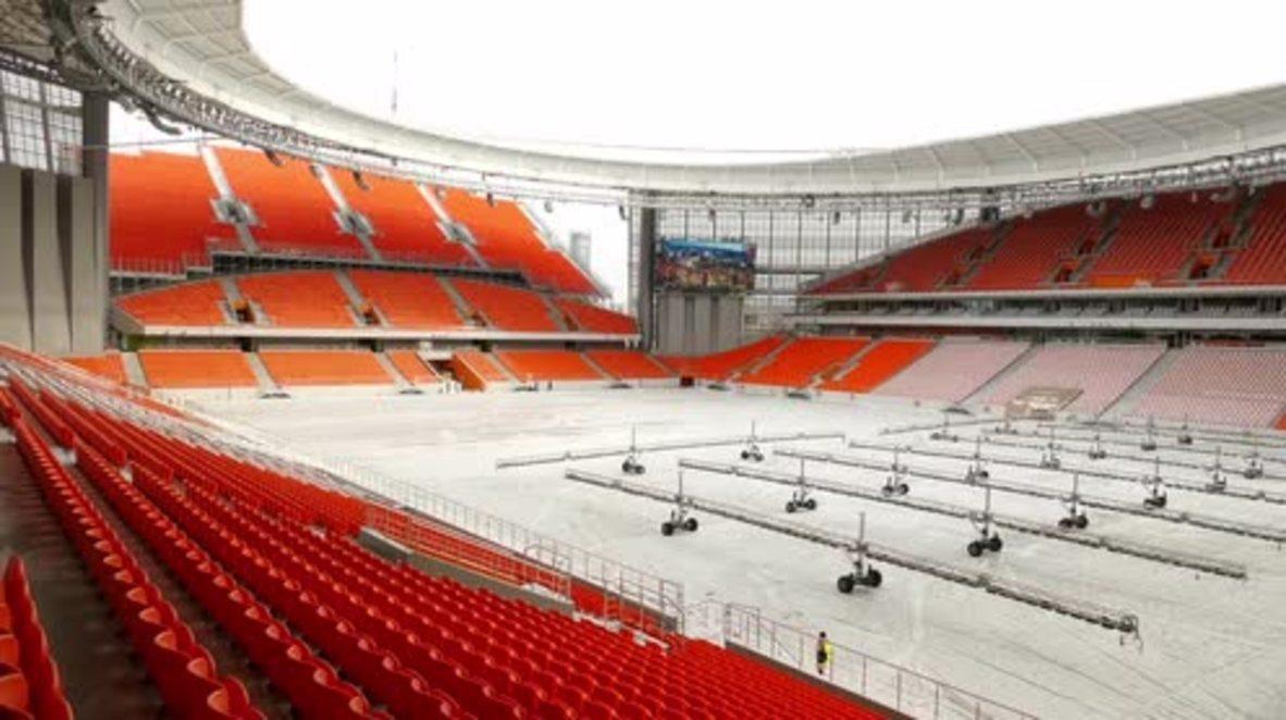 Rusia: El estadio de fútbol de Ekaterimburgo consigue el certificado de la FIFA para el Mundial