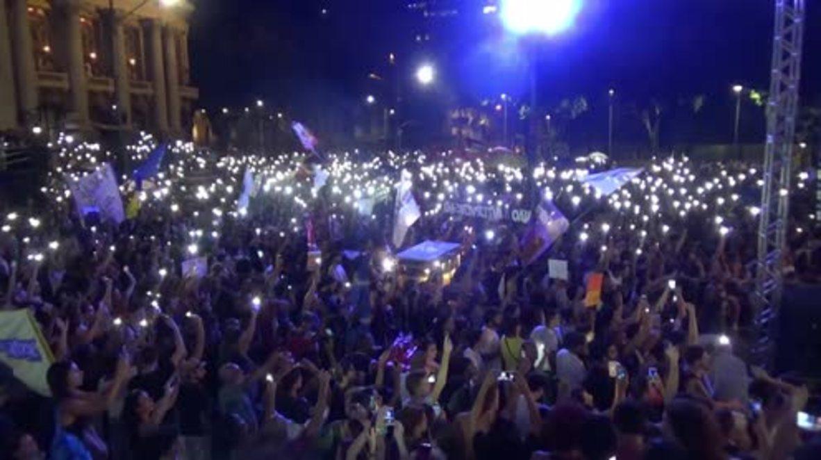 Brazil: Thousands gather in honour of Rio's slain HR activist Franco