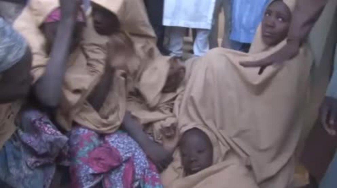 Nigeria: Over 100 kidnapped schoolgirls freed from Boko Haram captivity