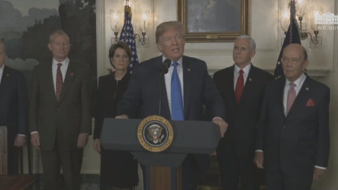 EE. UU.: Trump firma una orden ejecutiva que impone 60,000 millones en aranceles a China
