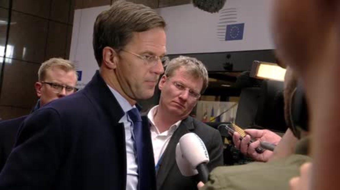 Belgium: EU recalls Russian ambassador to Brussels after EC meeting with May