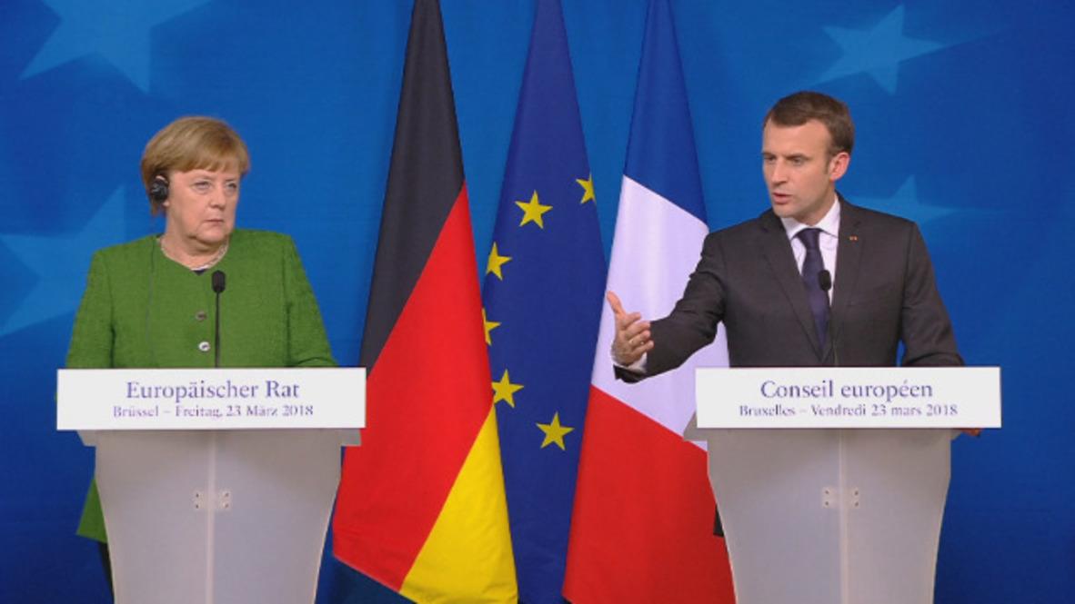Belgium: President Macron confirms 'unfolding' terrorist attack