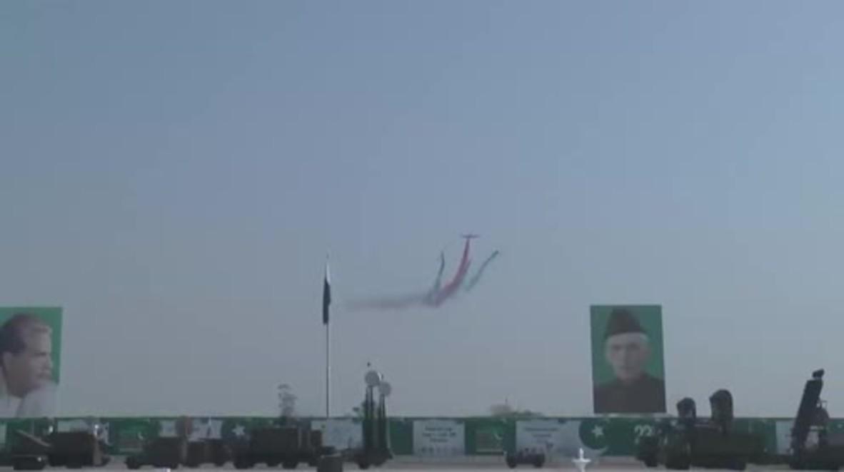 Pakistan: Nation's military displays its might at Pakistan Day parade