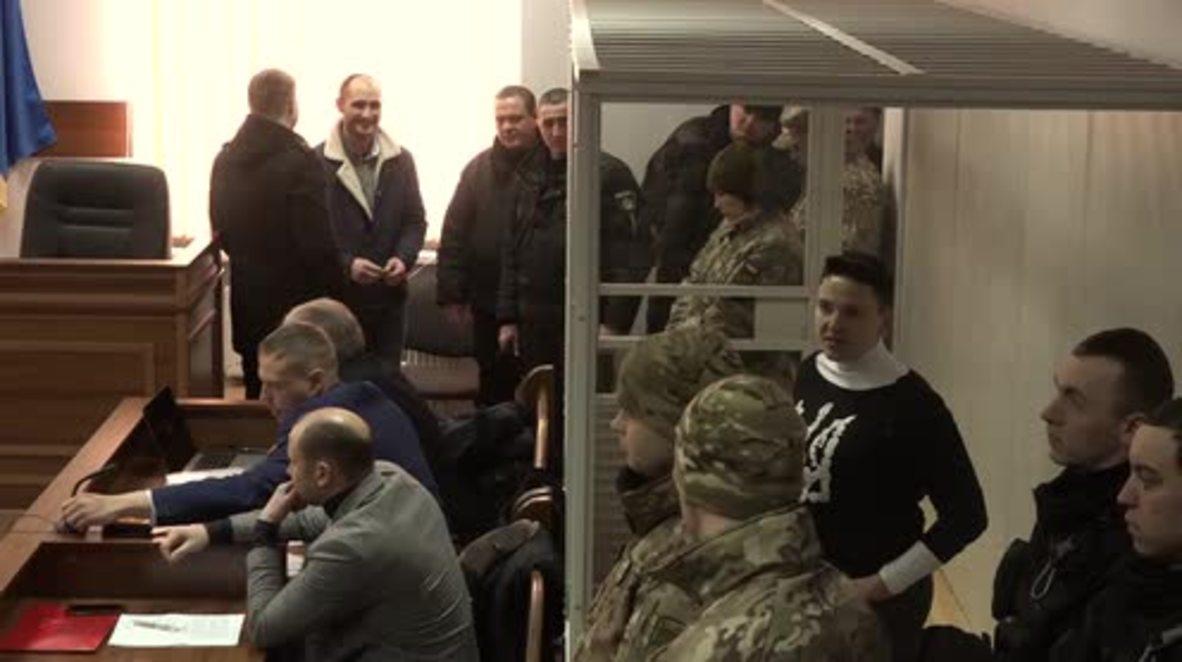 Ukraine: Savchenko detained for two months in terror probe