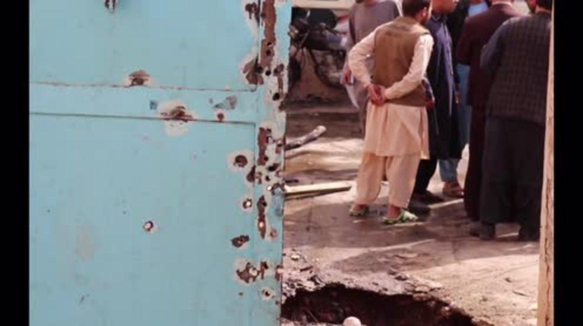 Afghanistan: Suicide blast kills 3, injures 9 in Afghan city of Herat