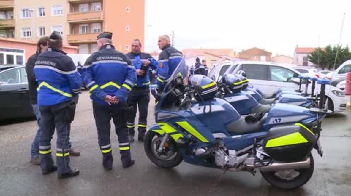 France: National Gendarmerie Director General pays tribute to fallen officer Beltrame