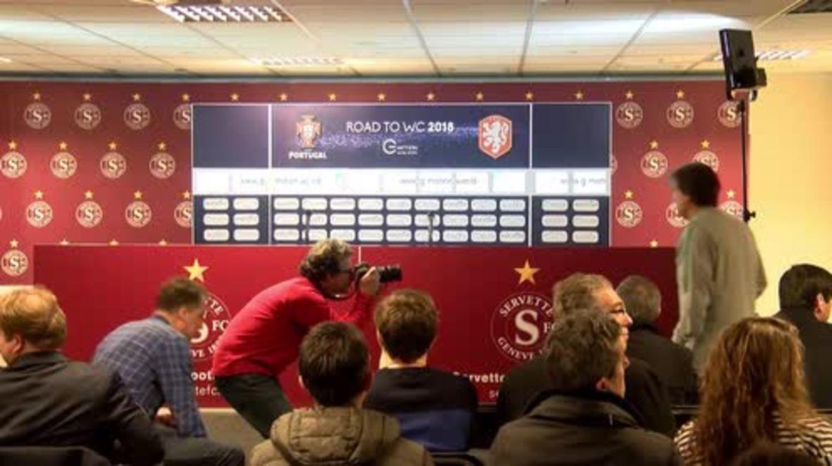 Switzerland: Portugal trains in Geneva ahead of Netherlands friendly