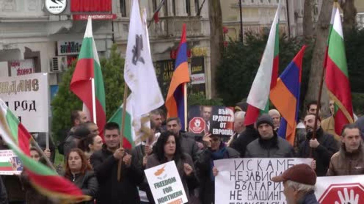 Bulgaria: 'Erdogan out of Europe!' - Varna protests EU-Turkey summit