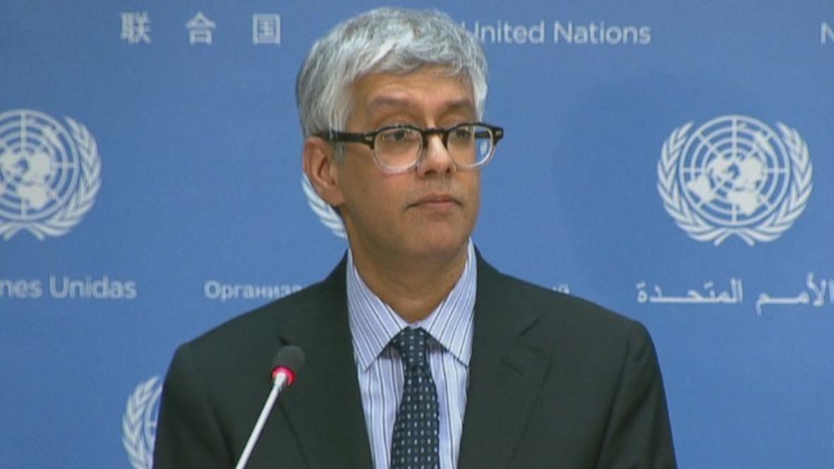 UN: SecGen 'will closely follow'  Russian diplomats' expulsion - Spokesperson