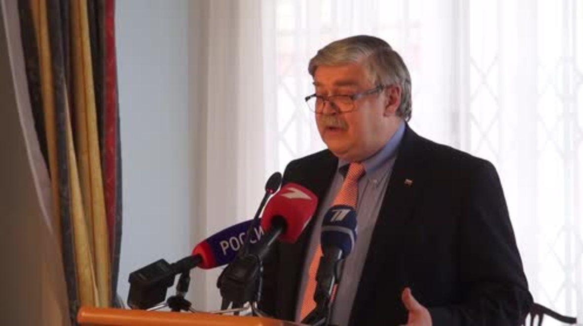 Latvia: 'Esprit de corps' - Russian ambassador on Riga's 'solidarity' with UK over Skripal
