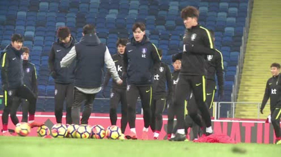 Poland: South Korea and Poland prepare ahead of friendly in Chorzow