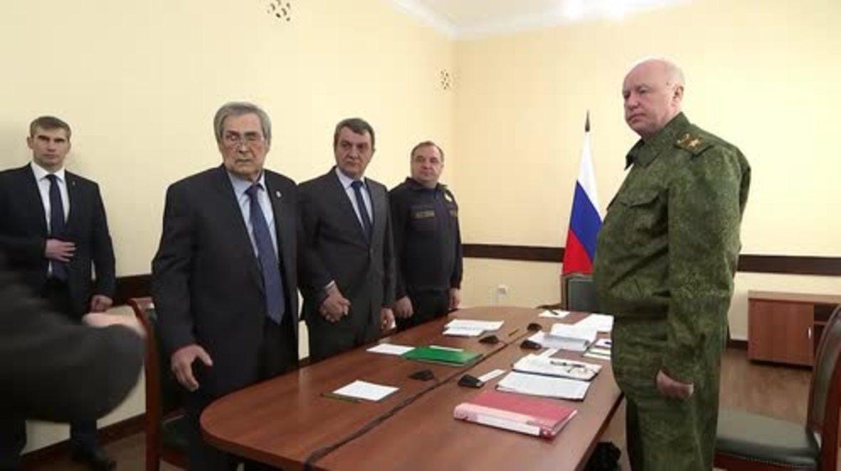 """Rusia: El gobernador de Kemerovo acusa a la oposición de """"capitalizar el dolor de las personas"""