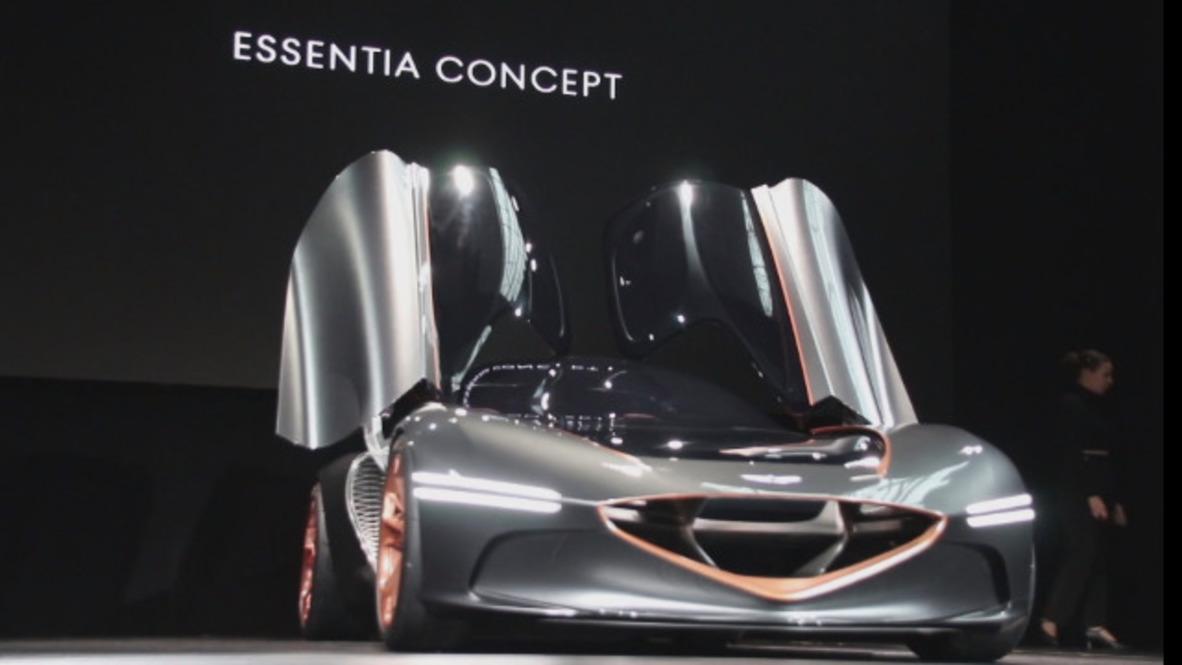 USA: Hyundai presents new all-electric sports concept car