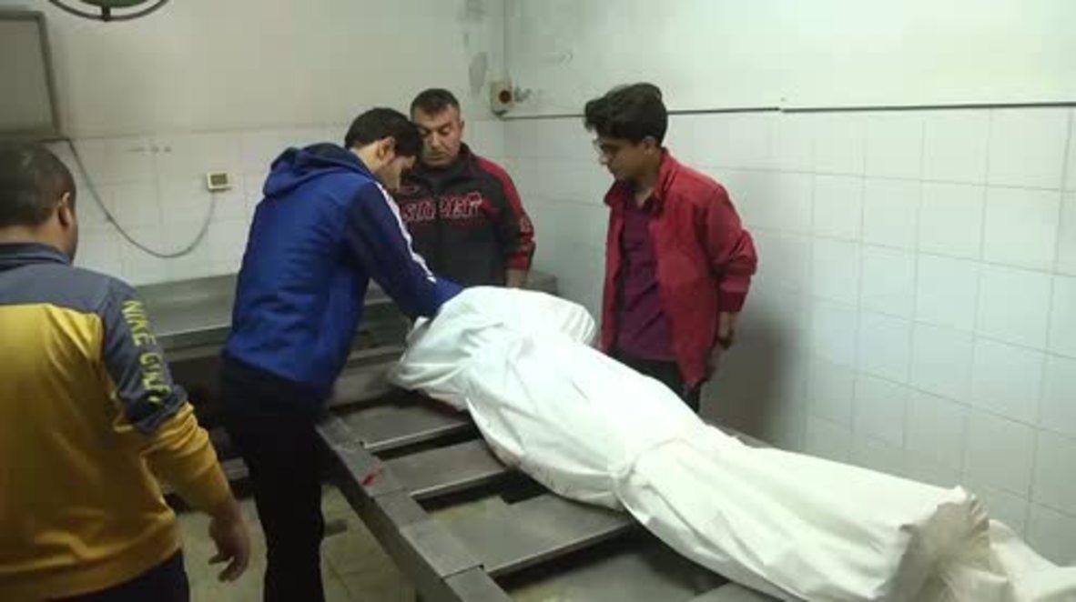 State of Palestine: Relatives mourn victim of Gaza-Israel border violence