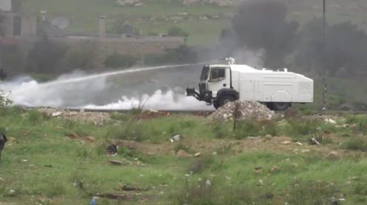 State of Palestine: 14 Palestinians injured in Ramallah protests