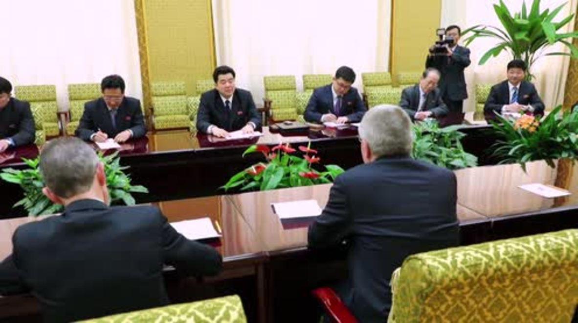 North Korea: 'Building bridges through sport' - IOC Pres. on Pyongyang visit