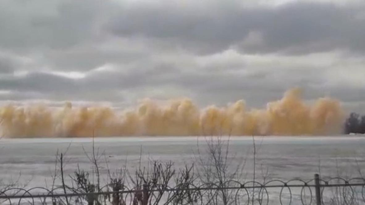 Having a Blast! Kazakh authorities use TNT to break river ice … and windows