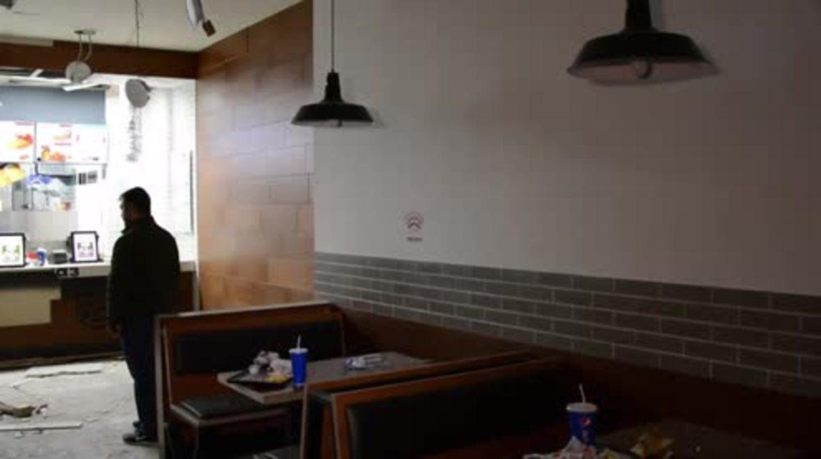 Armenia: Nine injured as explosion rocks Burger King in Yerevan