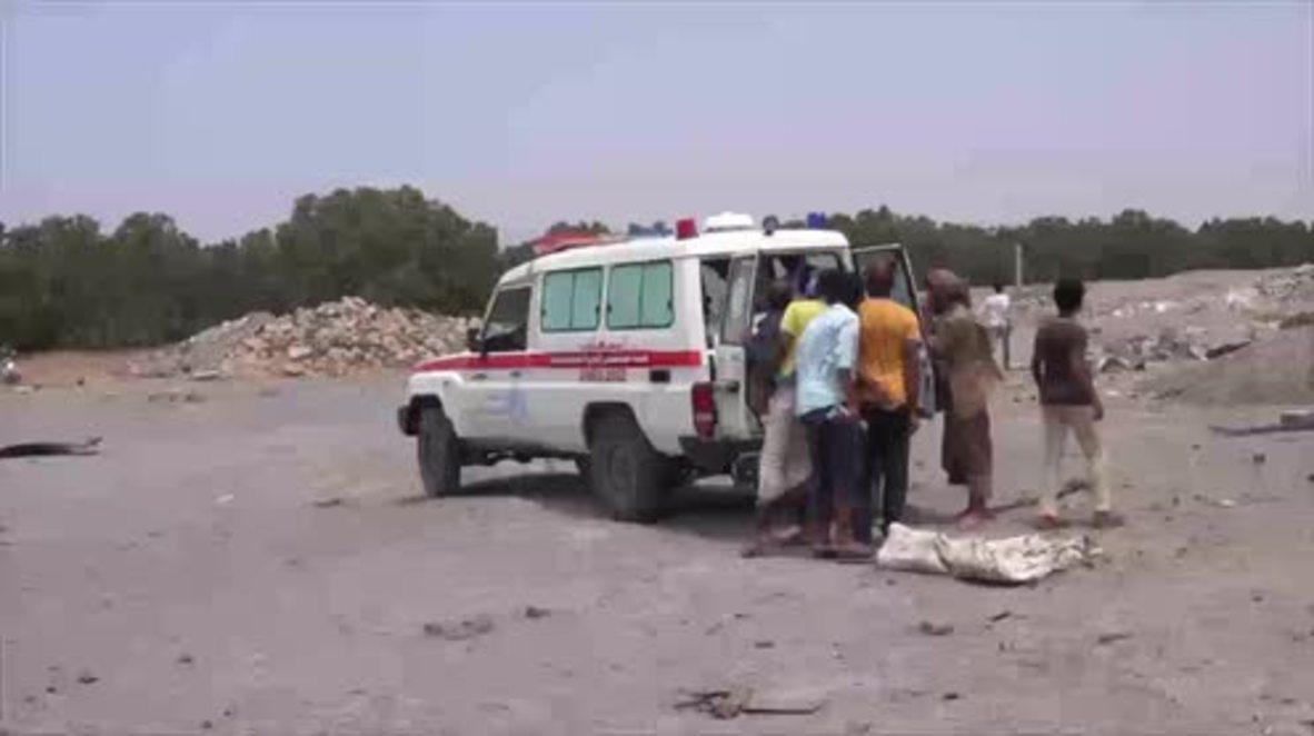 Yemen: 7 children, 5 adults dead as Saudi-led airstrike hits Hodeidah *GRAPHIC*