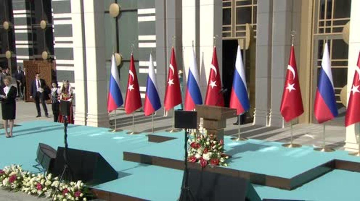 Turkey: Akkuyu nuclear plant is a 'symbol' of Russian-Turkish deepening ties - Putin