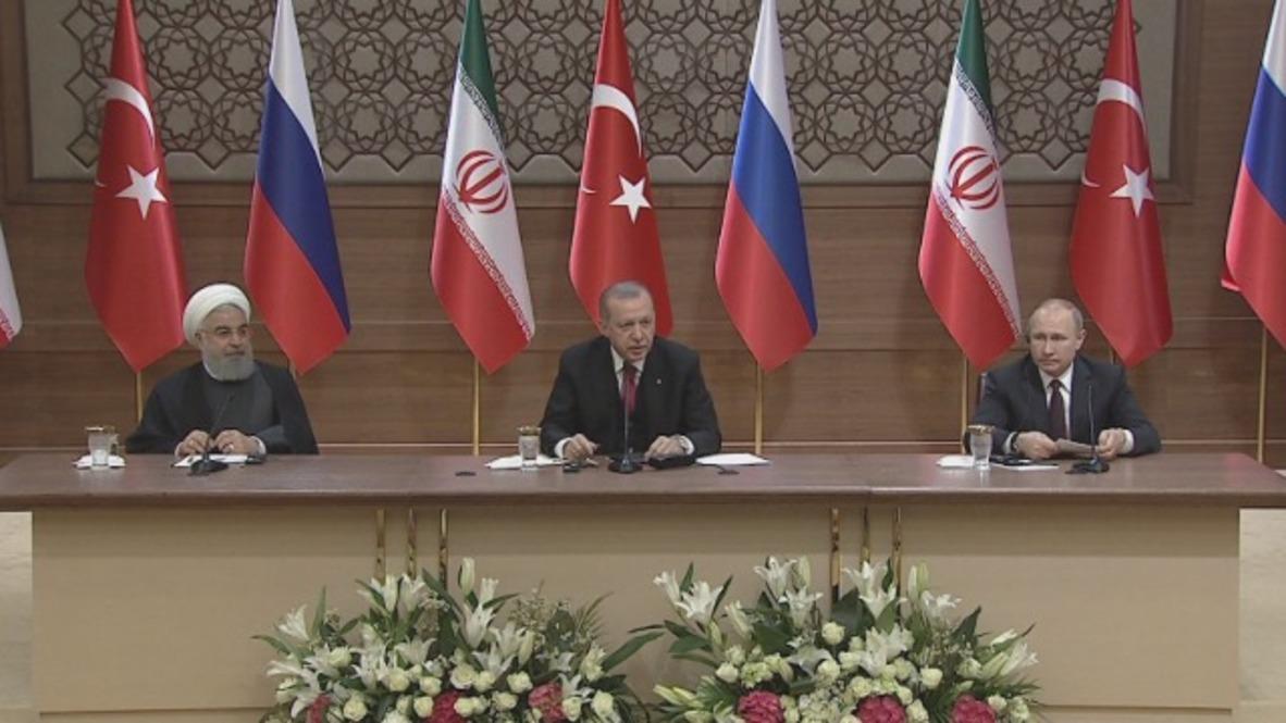 Turkey: 'Irrefutable evidence' of Syria militants planning chemical attacks – Putin