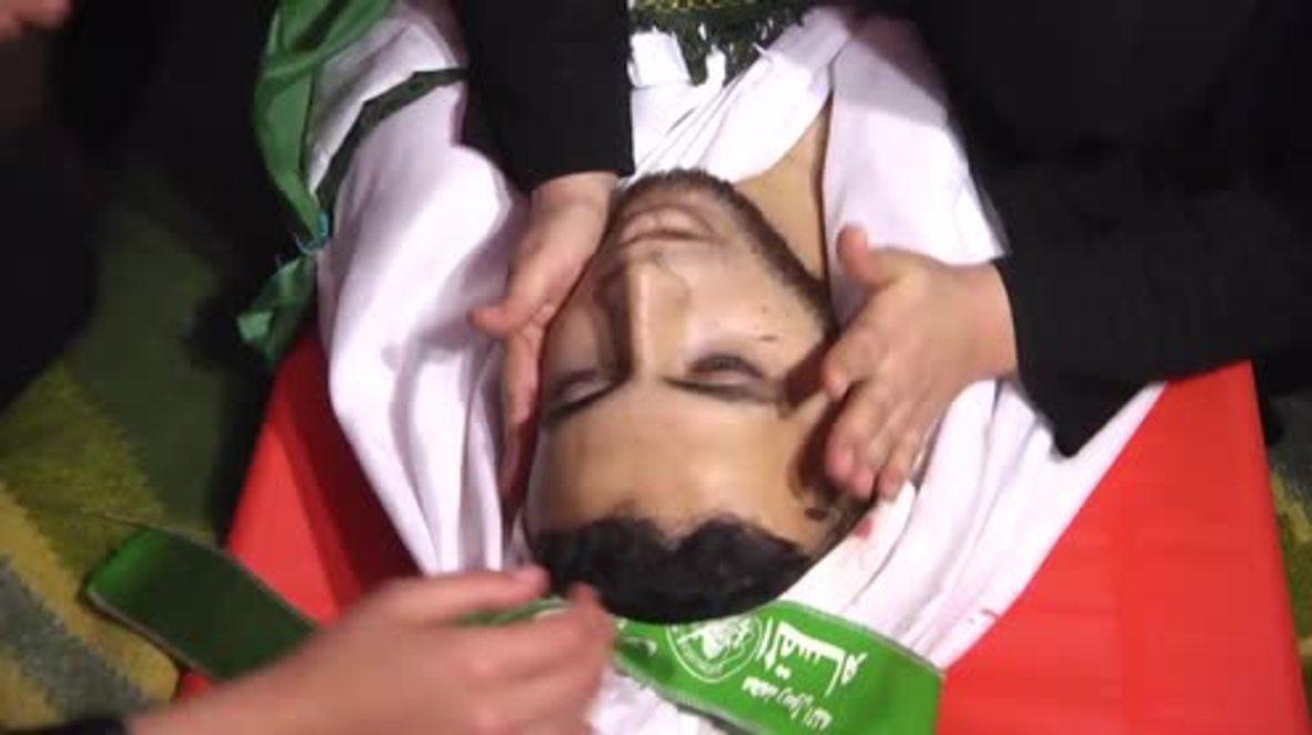 State of Palestine: Hundreds mourn man killed in Gaza border violence *GRAPHIC*
