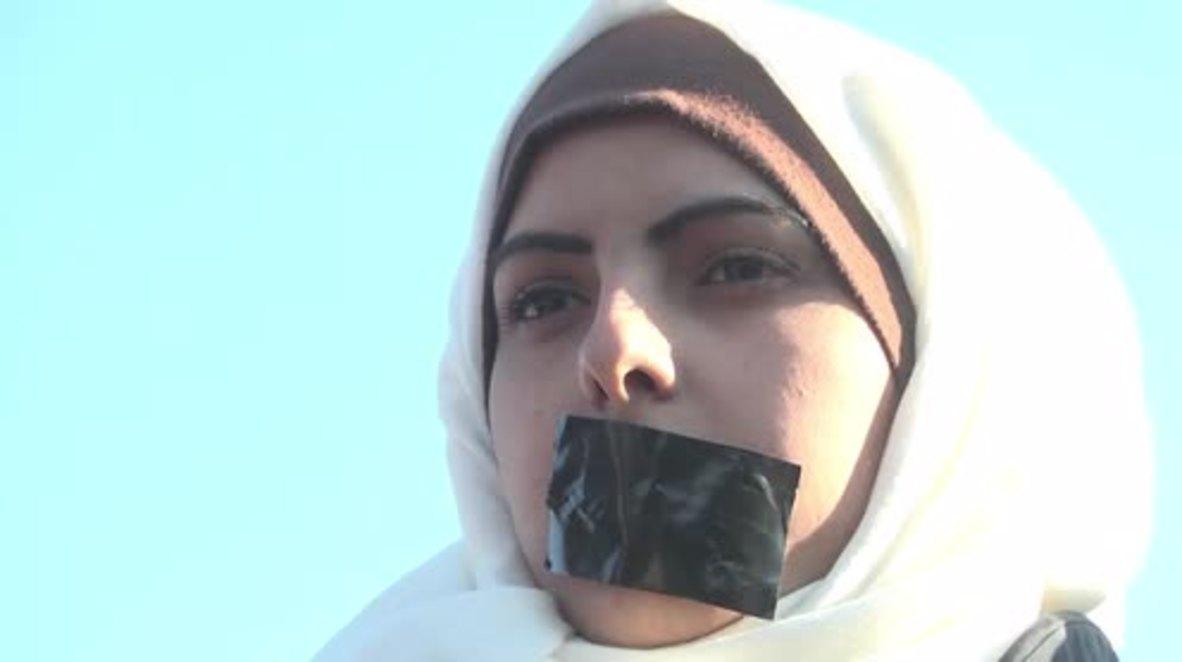 Estado de Palestina: Manifestantes demandan justicia por la muerte del periodista palestino