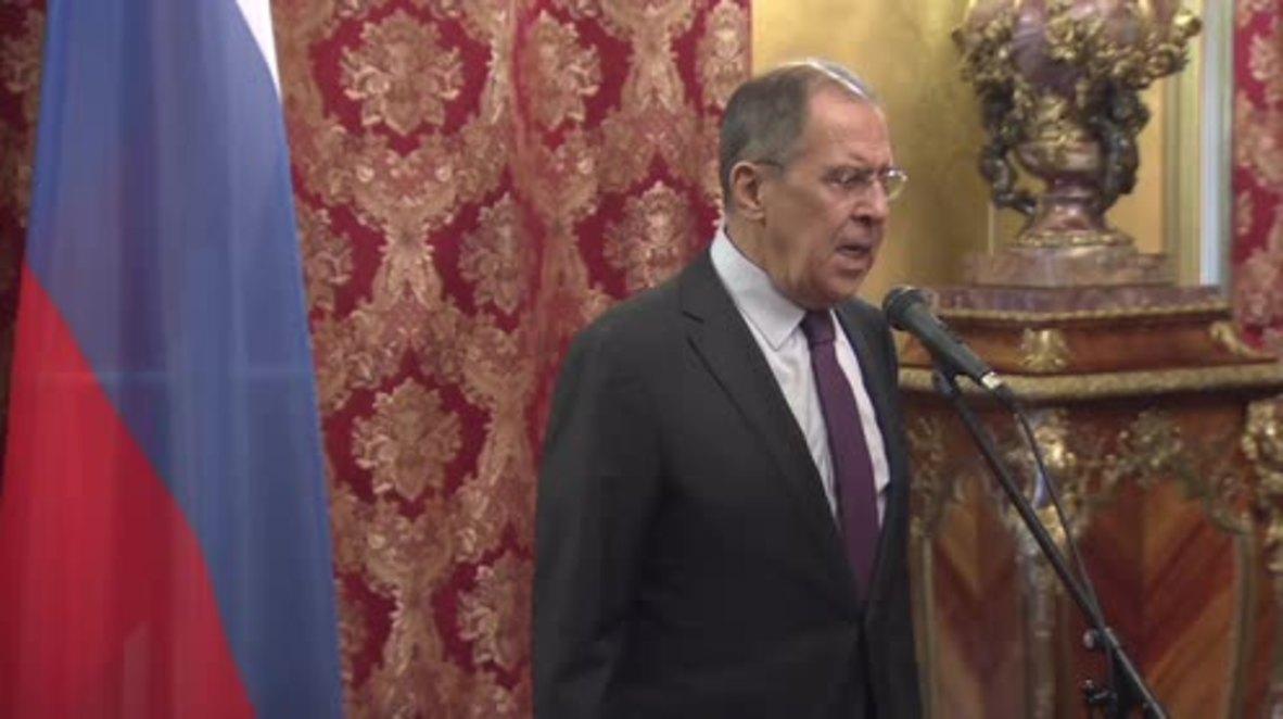 Russia: Lavrov accepts invitation to visit North Korea