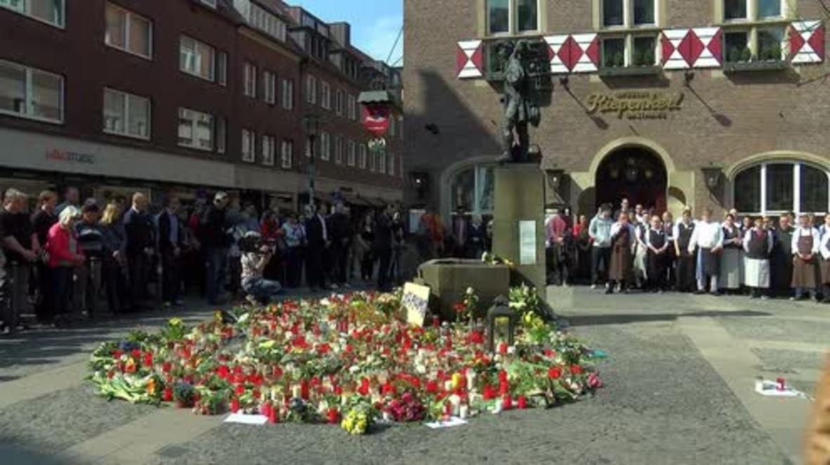 Alemania: Restaurante vuelve a abrir después del atropello masivo de Münster