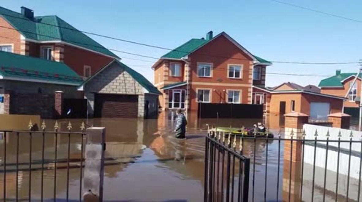 Russia: Locals evacuate as floods hit Bashkortostan