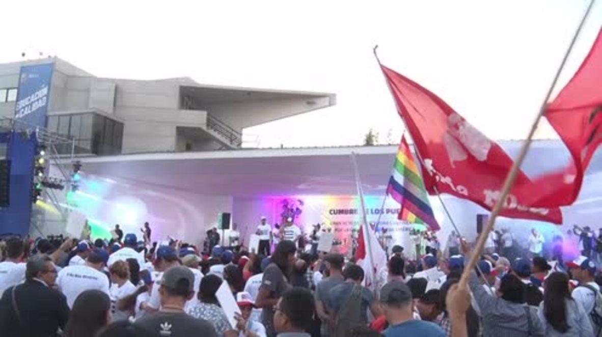 Perú: La Cumbre de los Pueblos llega a su fin en Lima