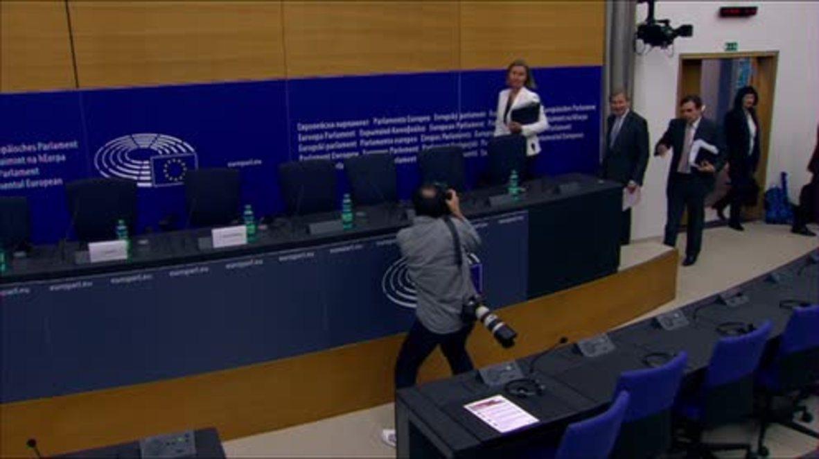 France: European Commission backs EU membership talks for Albania, Macedonia